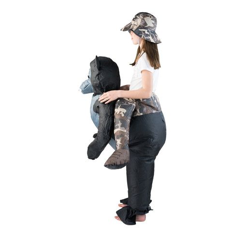Kids Inflatable Gorilla Costume