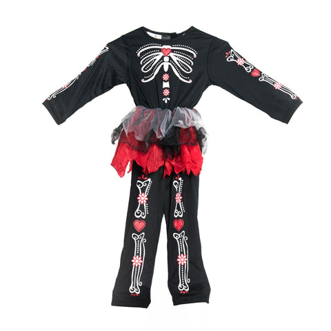 Bodysocks - Kids Day Of The Dead Costume