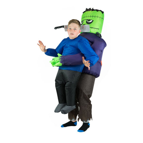 Bodysocks - Kids Inflatable Lift You Up Frankenstein's Hostage Costume