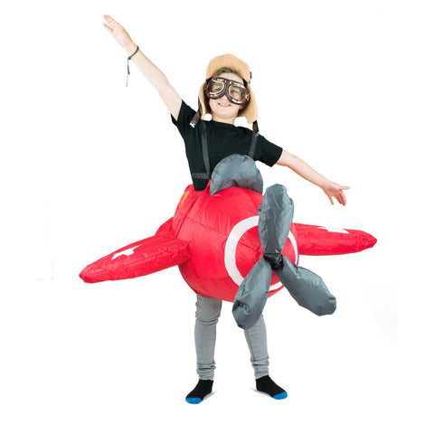 Bodysocks - Kids Inflatable Plane Costume