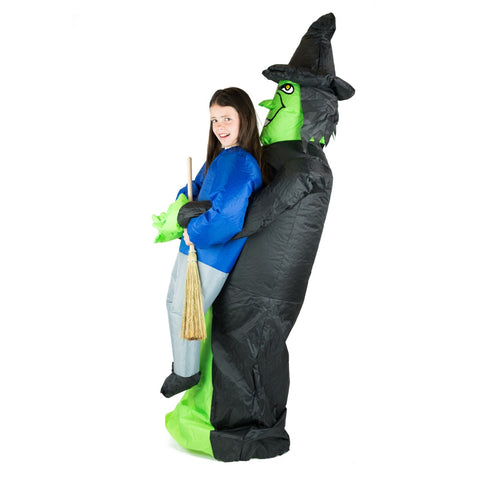 Bodysocks - Kids Inflatable Lift You Up Witch Costume