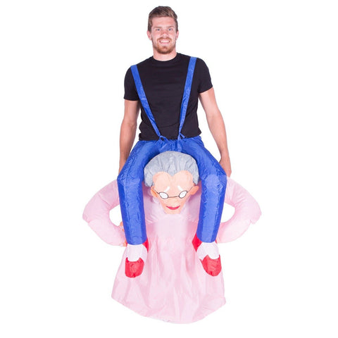 Bodysocks - Inflatable Old Lady Costume