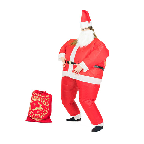 Bodysocks - Inflatable Santa Costume