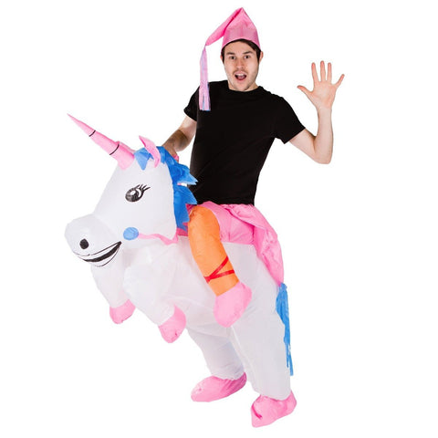Inflatable Lift You Up Unicorn Costume