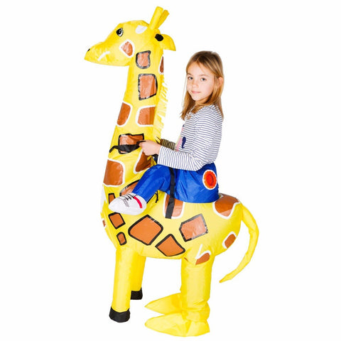 Bodysocks - Kids Inflatable Giraffe Costume