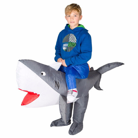 Bodysocks - Kids Inflatable Shark Costume