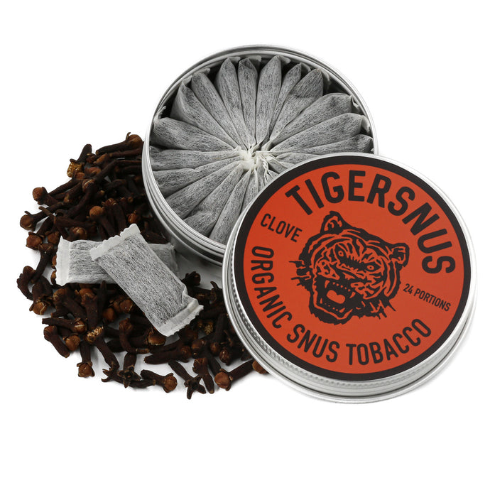 TIGERSNUS CLOVE - 24 portions
