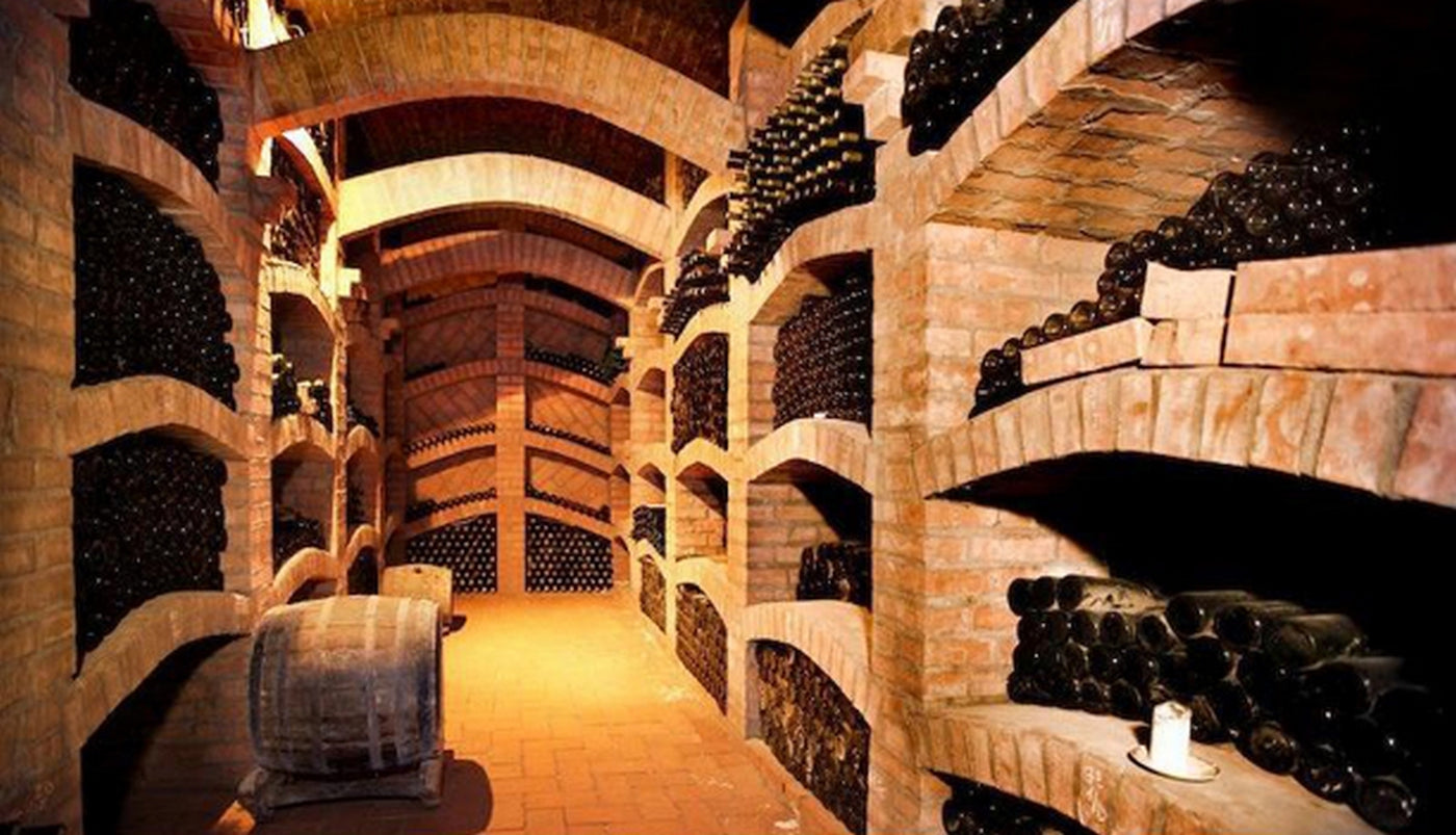 Wine and wine racks: A brief journey through time