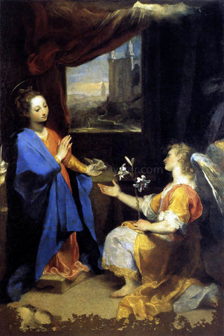 Federico Fiori Barocci Annunciation - Hand Painted Oil Painting