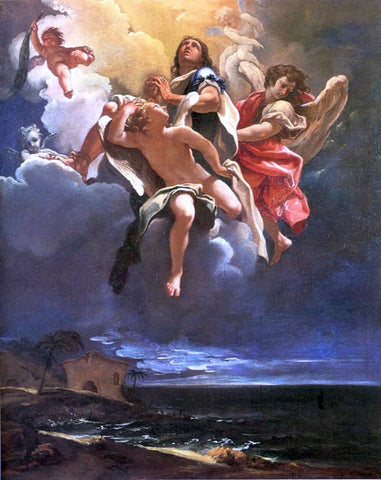 Sebastiano Ricci Apotheosis of a Saint - Hand Painted Oil Painting