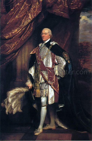 John Singleton Copley Baron Graham - Hand Painted Oil Painting