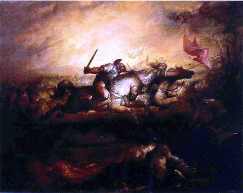 William Rimmer Battle of the Amazons - Hand Painted Oil Painting