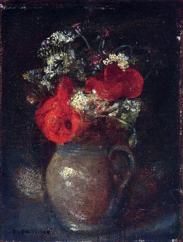 Odilon Redon Bouquet - Hand Painted Oil Painting