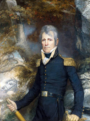 John Wesley Jarvis General Andrew Jackson - Hand Painted Oil Painting