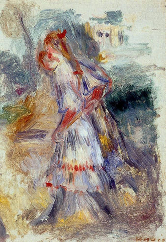Pierre Auguste Renoir Girls - Hand Painted Oil Painting