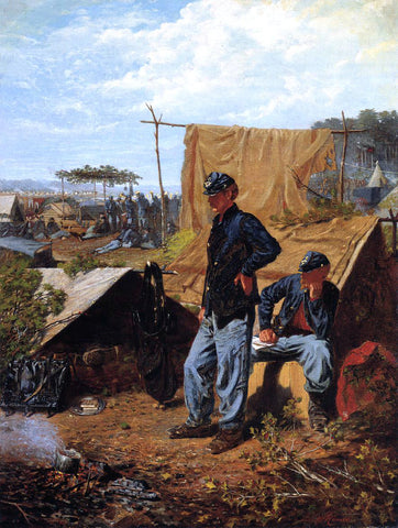 Winslow Homer Home Sweet Home - Hand Painted Oil Painting