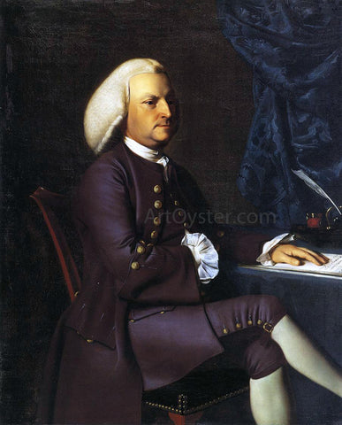 John Singleton Copley Isaac Smith - Hand Painted Oil Painting