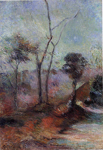 Paul Gauguin Landscape - Hand Painted Oil Painting