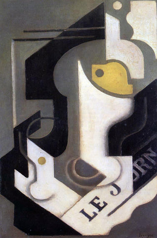 Juan Gris Lemon - Hand Painted Oil Painting