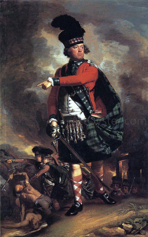 John Singleton Copley Major Hugh Montgomerie - Hand Painted Oil Painting