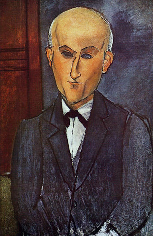 Amedeo Modigliani Max Jacob - Hand Painted Oil Painting