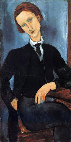 Amedeo Modigliani Pierre-Edouard Baranowski - Hand Painted Oil Painting
