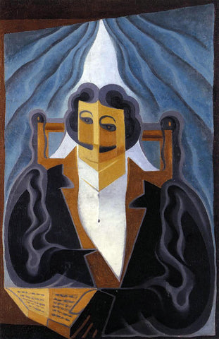 Juan Gris Portrait of a Man - Hand Painted Oil Painting