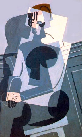 Juan Gris Portrait of Josette (also known as his daughter) - Hand Painted Oil Painting