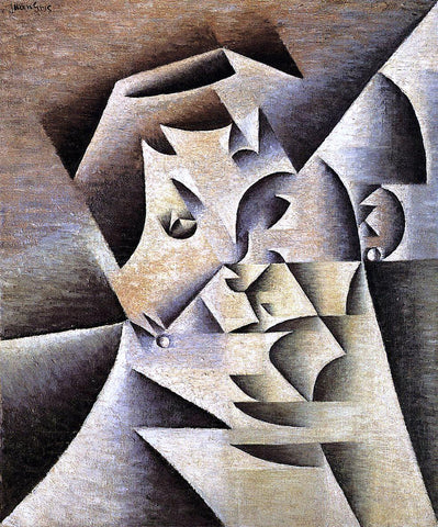 Juan Gris Portrait of the Artist's Mother - Hand Painted Oil Painting