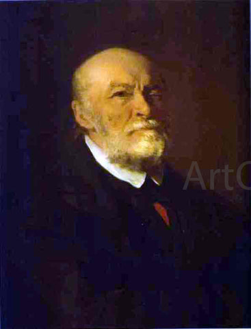 Ilia Efimovich Repin Portrait of the Surgeon Nikolay Pirogov - Hand Painted Oil Painting
