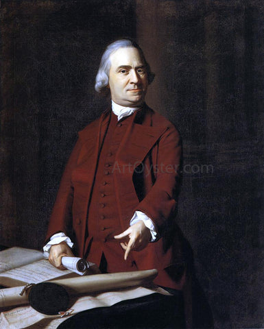 John Singleton Copley Samuel Adams - Hand Painted Oil Painting