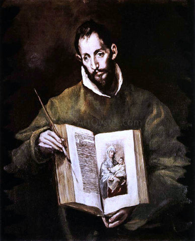 El Greco St Luke - Hand Painted Oil Painting