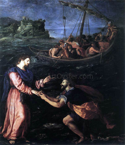Alessandro Allori St Peter Walking on the Water - Hand Painted Oil Painting