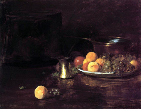 William Merritt Chase Still Life - Fruit - Hand Painted Oil Painting