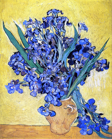Vincent Van Gogh A Still Life with Irises - Hand Painted Oil Painting