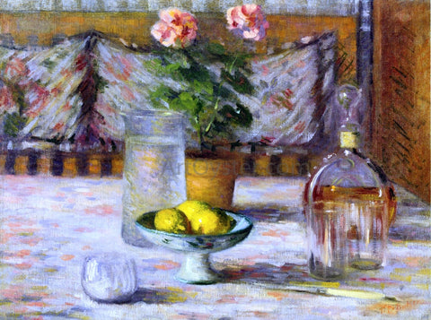 Theodore Earl Butler Still Life with Three Lemons - Hand Painted Oil Painting