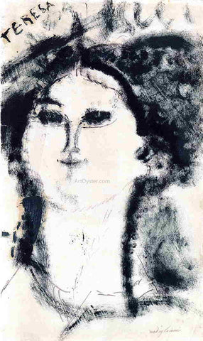 Amedeo Modigliani Teresa - Hand Painted Oil Painting