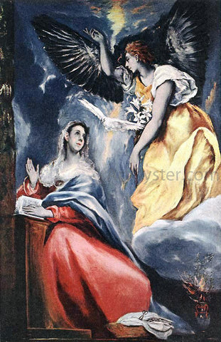 El Greco The Annunciation - Hand Painted Oil Painting
