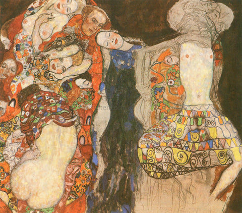 Gustav Klimt The Bride (unfinished) - Hand Painted Oil Painting