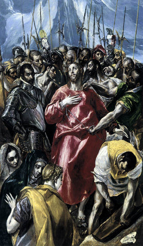 El Greco The Disrobing of Christ (El Espolio) - Hand Painted Oil Painting