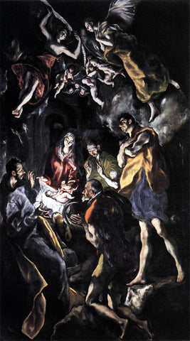 El Greco The Marriage of the Virgin - Hand Painted Oil Painting
