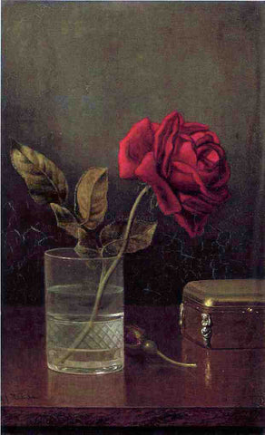 Martin Johnson Heade The Queen of Roses - Hand Painted Oil Painting