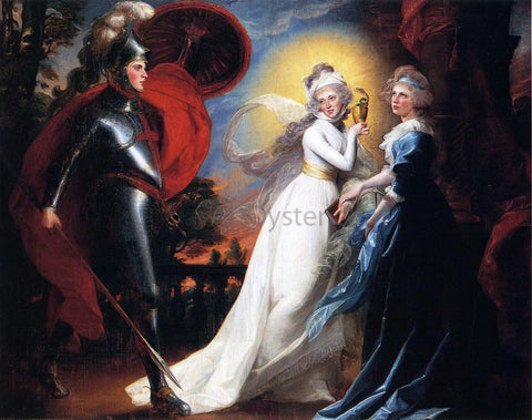 John Singleton Copley The Red Cross Knight - Hand Painted Oil Painting