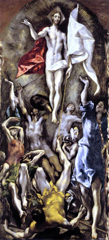 El Greco The Resurrection - Hand Painted Oil Painting