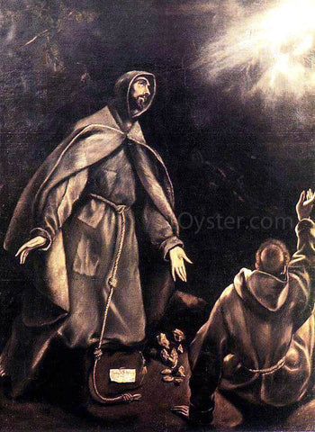 El Greco The Stigmatization of St Francis - Hand Painted Oil Painting