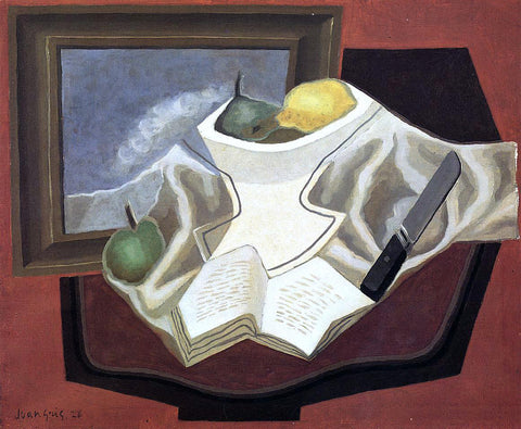 Juan Gris The Table in Front of the Picture - Hand Painted Oil Painting