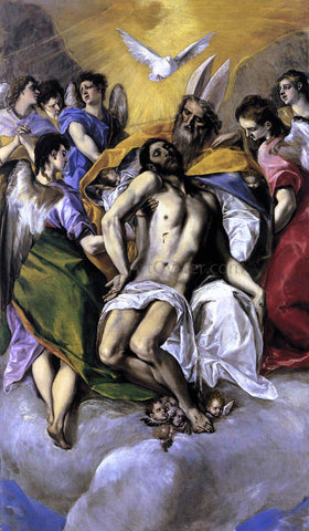El Greco The Trinity - Hand Painted Oil Painting