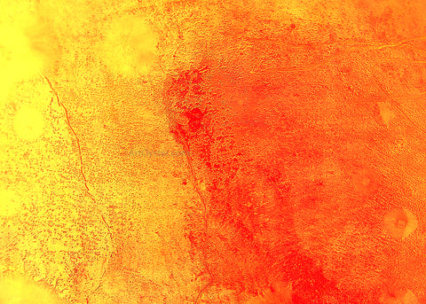 Our Original Collection Yellow and Orange in Harmony - Hand Painted Oil Painting