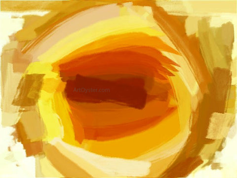 Our Original Collection Yellow Hole - Hand Painted Oil Painting