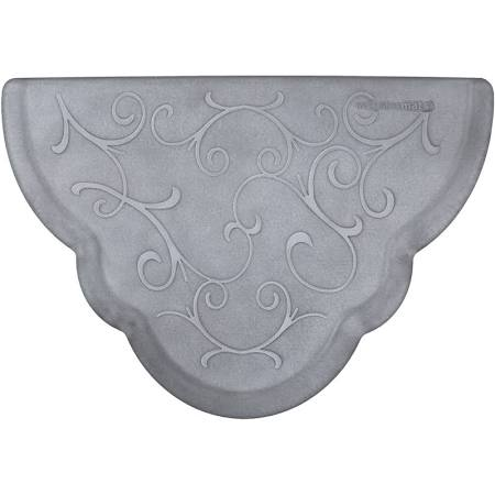 Silver Bella Scalloped Mat